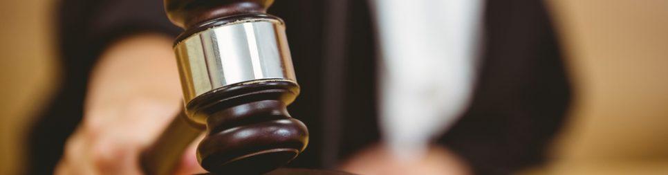 hamer van rechter